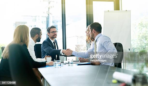 Making deals for the betterment of business