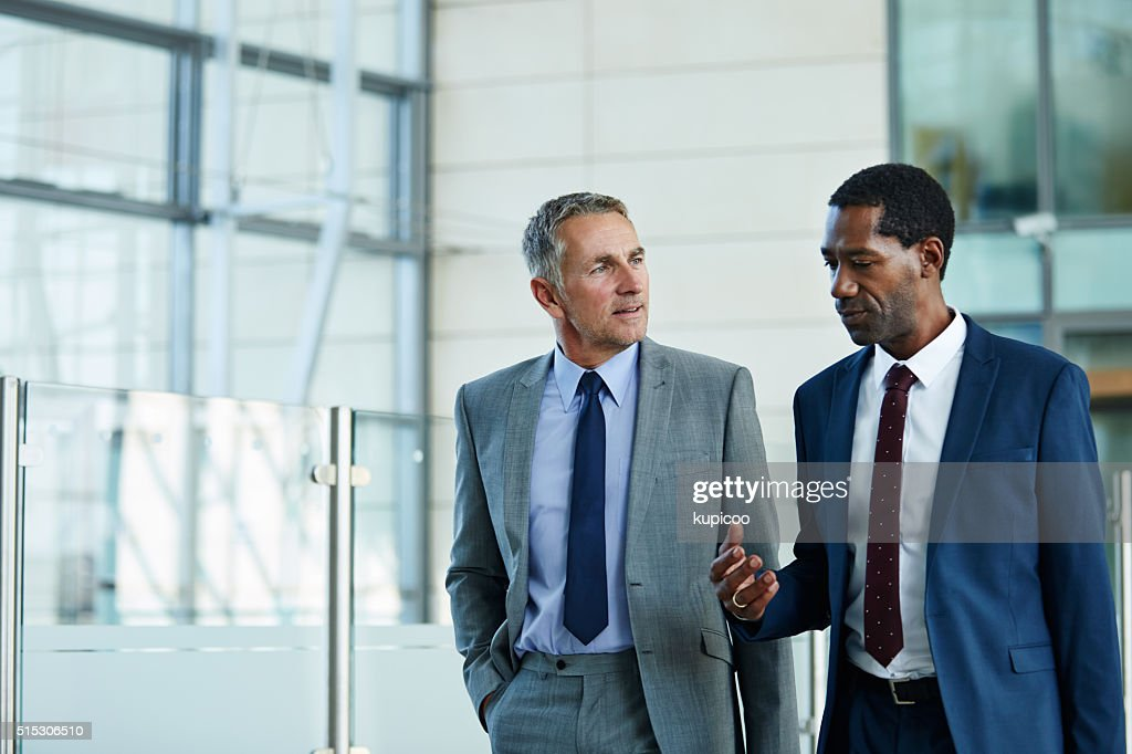 Making decision on the move : Stock Photo