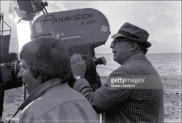 Making file 'Fedora' of BWilder in Cherbourg France on August 17 1977 Director Billy Wilder