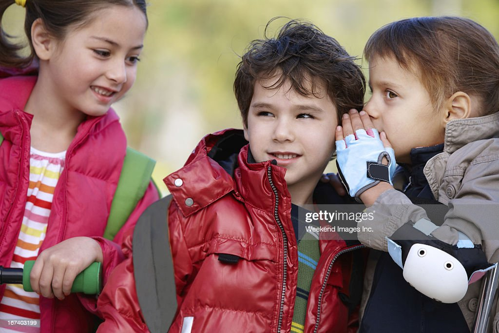 Making first friends : Stock Photo