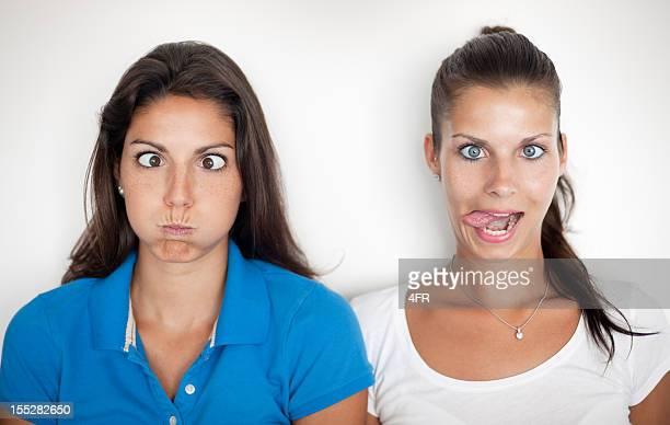 Machen lustige Gesichter (XXXL