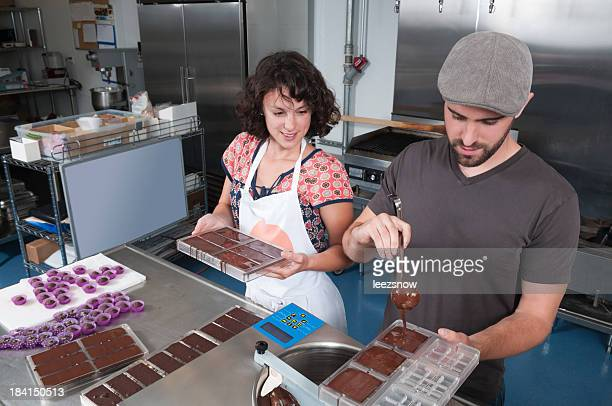 Making Hand Made Chocolates - Series