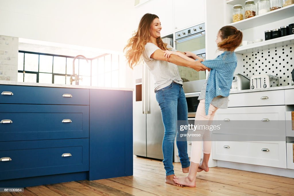 Making her childhood a fun one : Stock Photo