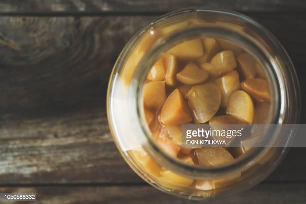 Herstellung hausgemachter Apfelessig