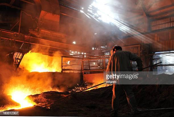 Making iron