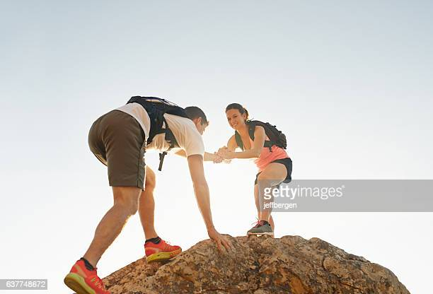 Making it to the top together
