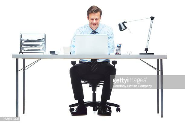 making light of his workload - sitting stock pictures, royalty-free photos & images