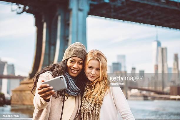 Erinnerungen kreieren mit meinem Freund in New York City