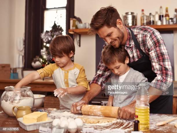 Die Mutter einige Muttertag Kekse!