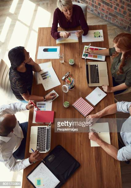 making more happen with every meeting they have - vertical stock pictures, royalty-free photos & images