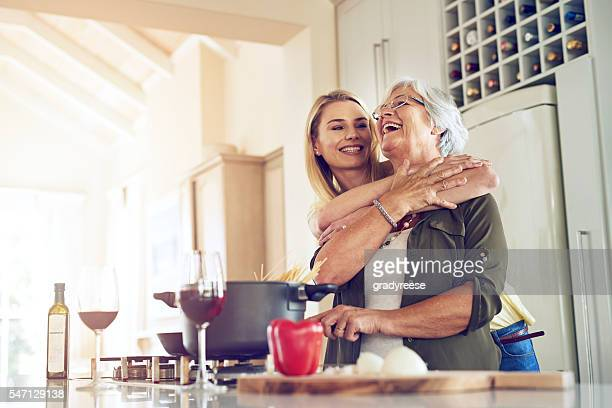 making my mother happy is what makes me happiest - mother daughter stock photos and pictures