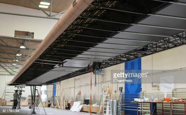 Making of the solar powered aircraft 'Solar Impulse 2'