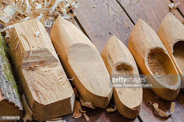 Making Of Wooden Clogs