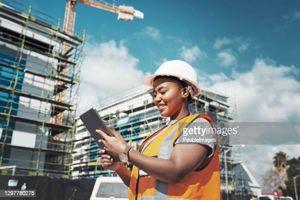 making paper blueprints a thing of the past - construction industry stock pictures, royalty-free photos & images