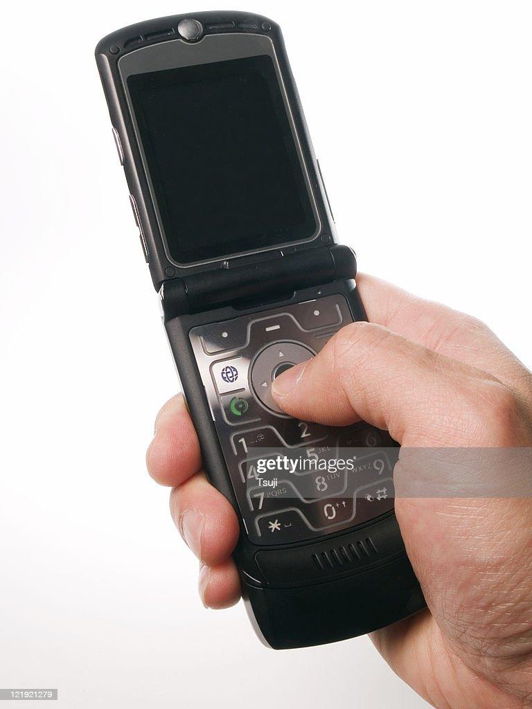 Making Phone Call : Stock Photo