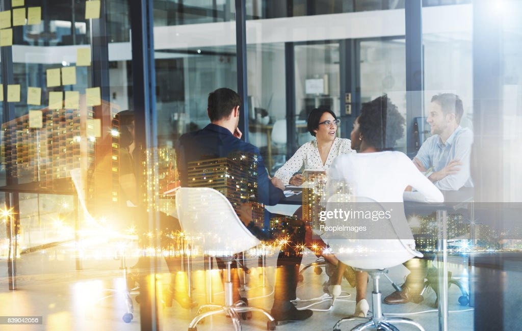 Making plans to take over the city : Stock Photo