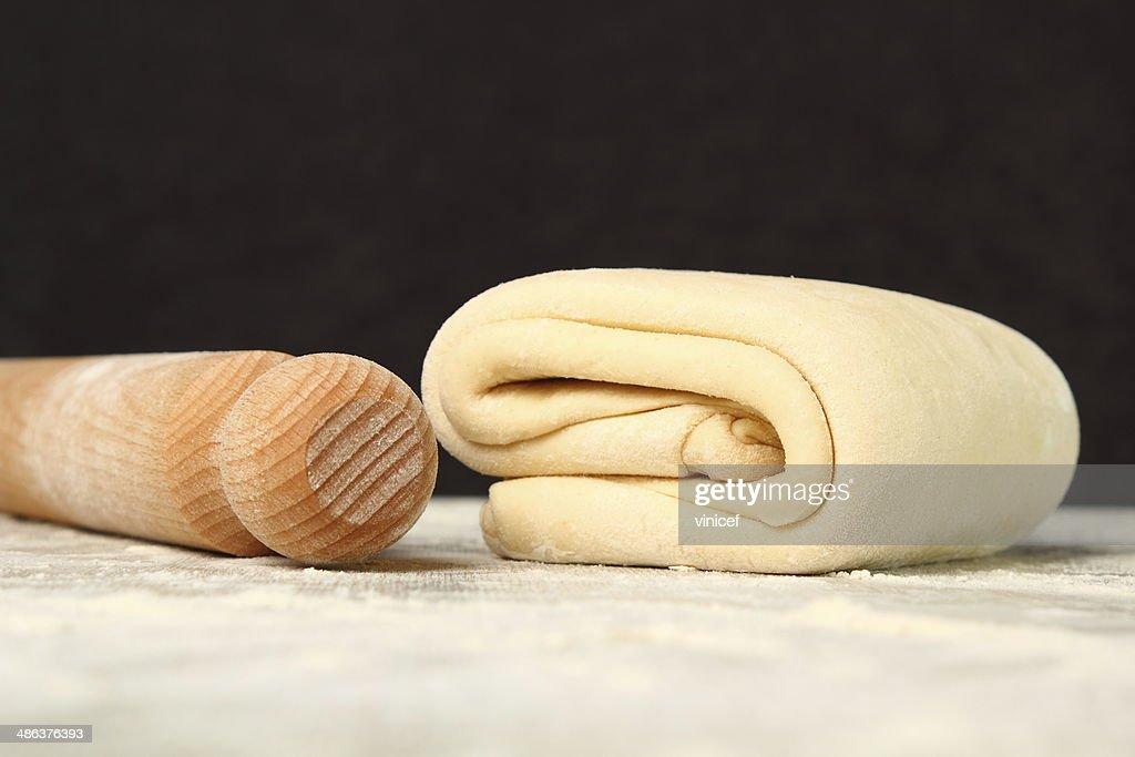 Making Puff Pastry : Stock Photo