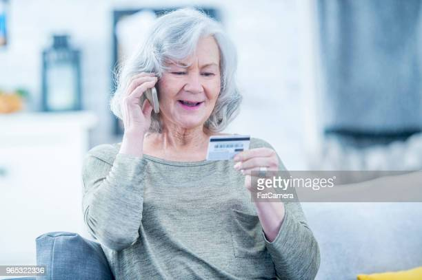 Making Purchase Over The Phone