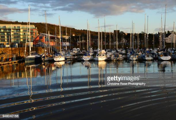 making ripples on the water - whitehaven cumbria stock pictures, royalty-free photos & images