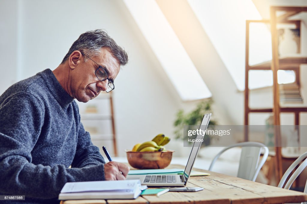 Making sure everything is filled in : Stock Photo