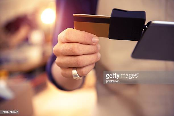 Making sure his customers have a variety of payment options