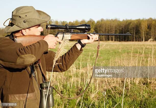 asegúrate de que tengo la imagen perfecta - rifle fotografías e imágenes de stock