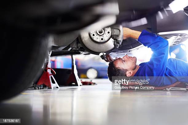 making sure it's 100 percent road worthy - garage stock pictures, royalty-free photos & images