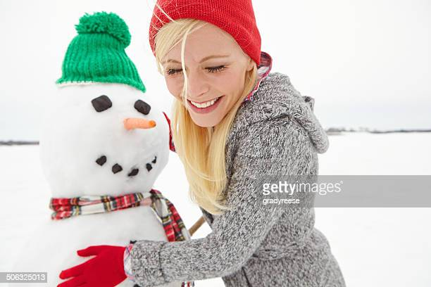 Sicherstellen, dass Ihr Schneemann Look perfekt