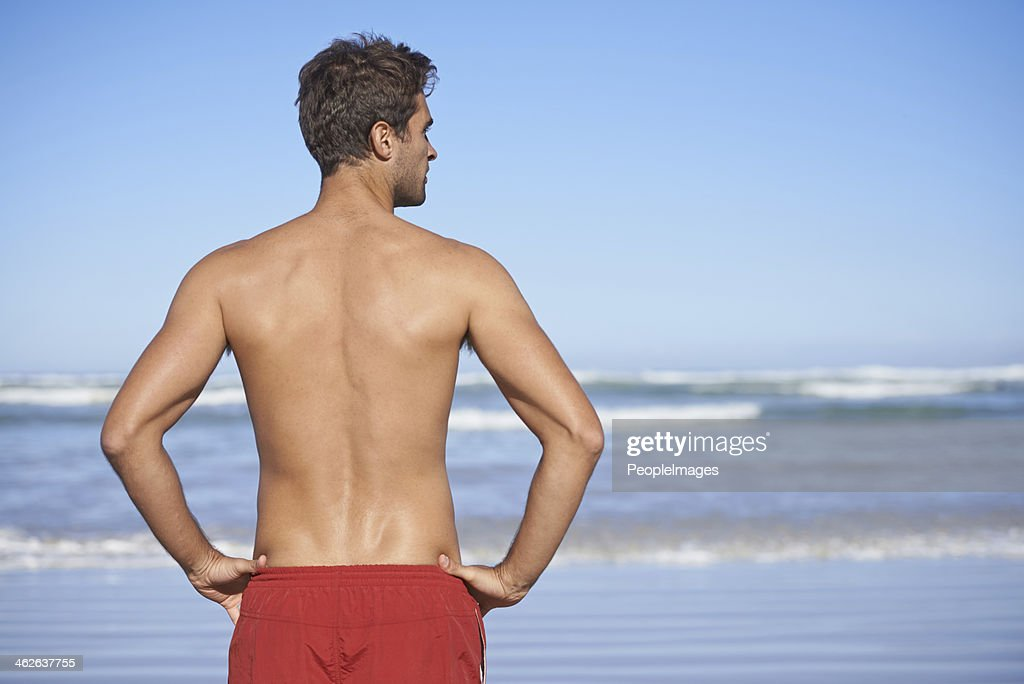 Making sure that the coast is clear : Stock Photo