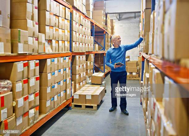 making sure the warehouse runs well - satisfaction stock pictures, royalty-free photos & images