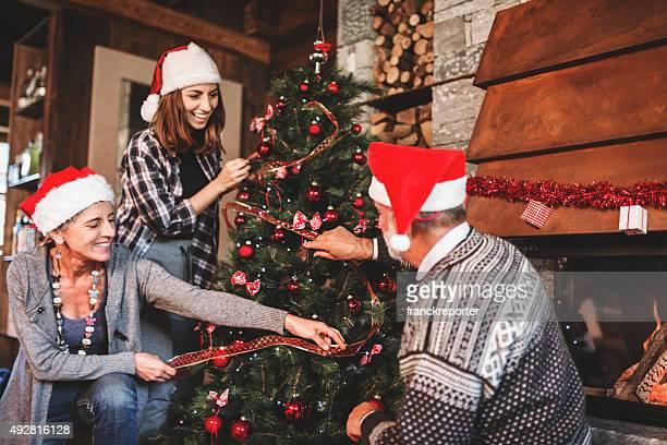 Making the christmas tree