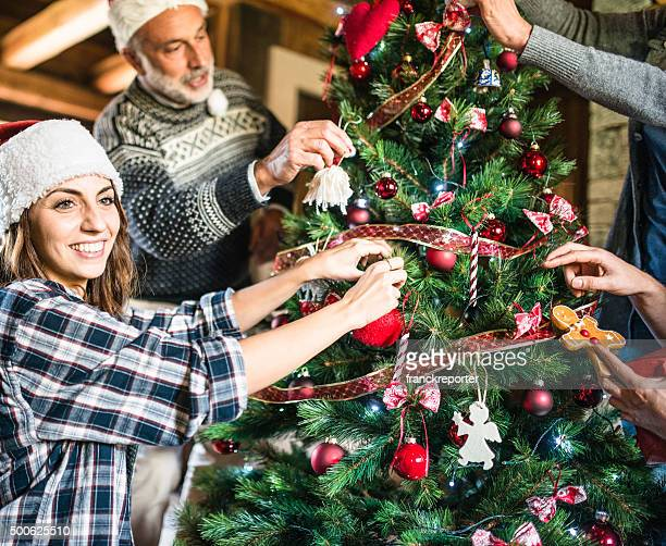 Making the christmas tree