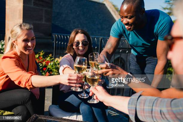 making the most of our weekend - drinking stock pictures, royalty-free photos & images