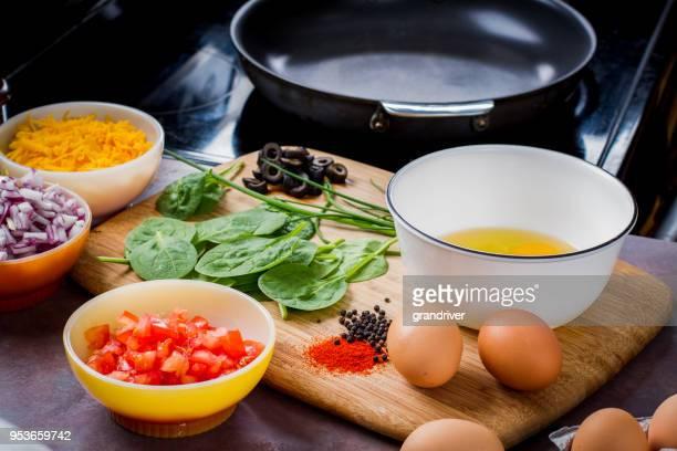 Att göra den perfekt låg Carb omelett