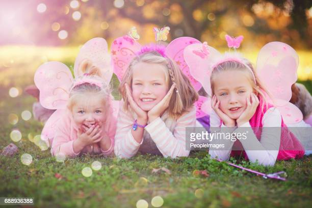 making their childhood even more magical - fairy stock photos and pictures