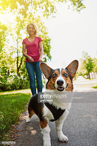 Making time to do the things her dog loves doing