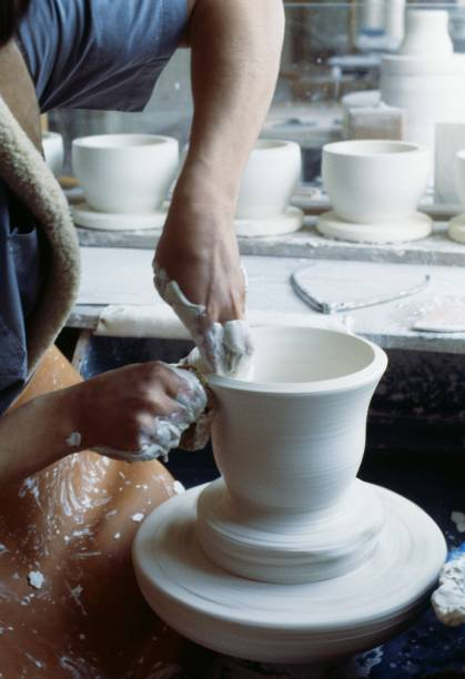 Making Vases In A Ceramic Factory Sevres Pictures Getty Images