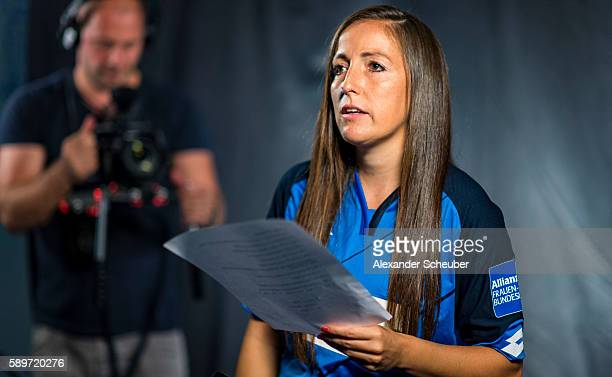 Makingof / behind the scenes during the Allianz Women's Bundesliga Tour on August 15 2016 in StLeonRot Germany