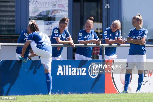 Makingof / behind the scenes during the Allianz Women's Bundesliga Tour of SC Sand during the Allianz Frauen Bundesliga Club Tour at on August 22...