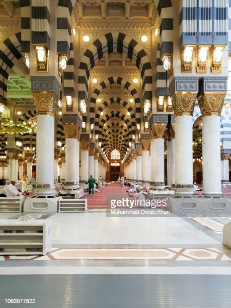 makkah, saudi arabia - al haram mosque stock photos and pictures