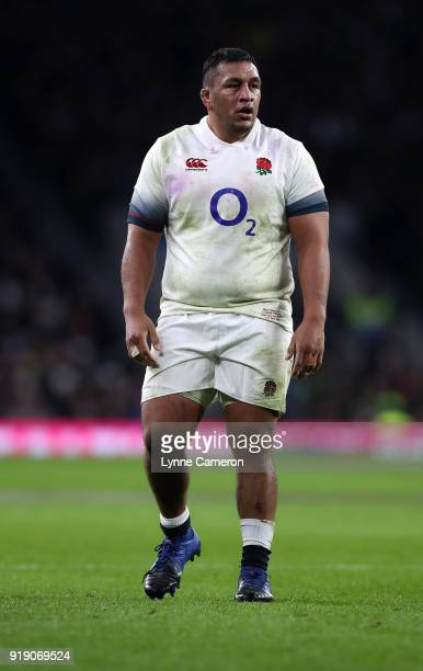 Mako Vunipola of England during the NatWest Six Nations match between England and Wales at Twickenham Stadium on February 10 2018 in London England