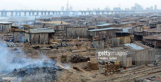 Makoko is a slum on the water which is located in a lagoon in Lagos the capital of Nigeria It was established in the 18th century as a fishing...