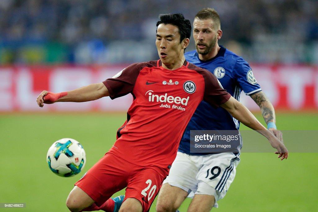 Schalke 04 v Eintracht Frankfurt - German DFB Pokal : News Photo