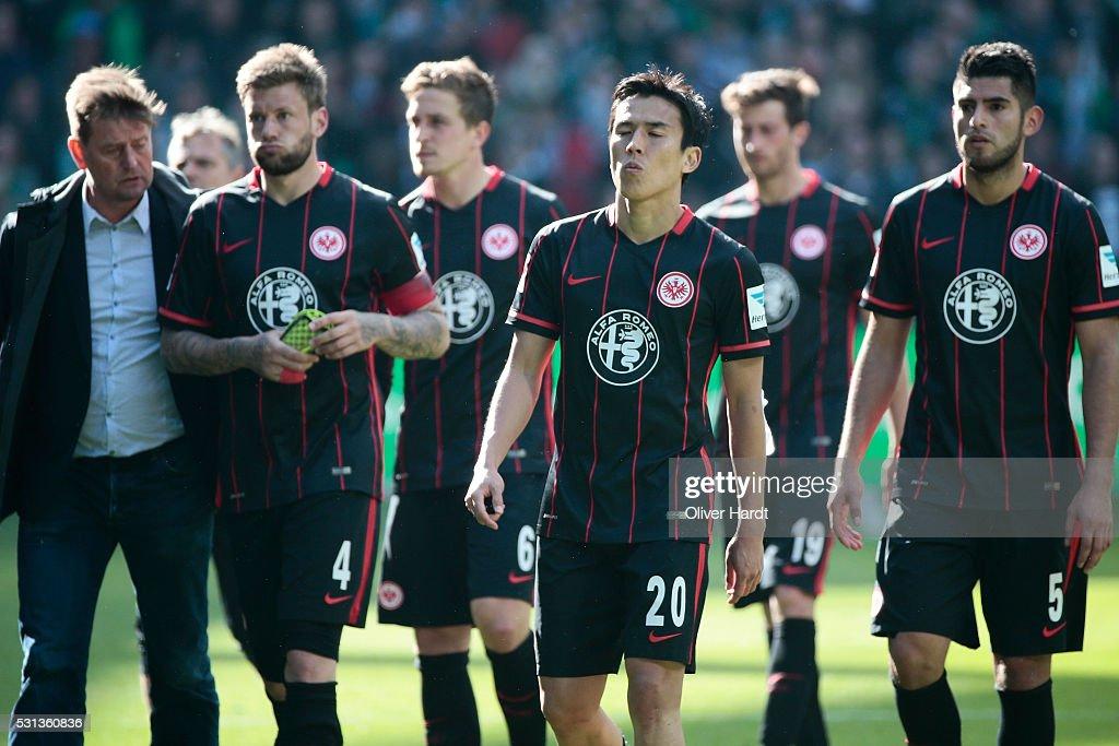 Werder Bremen v Eintracht Frankfurt - Bundesliga