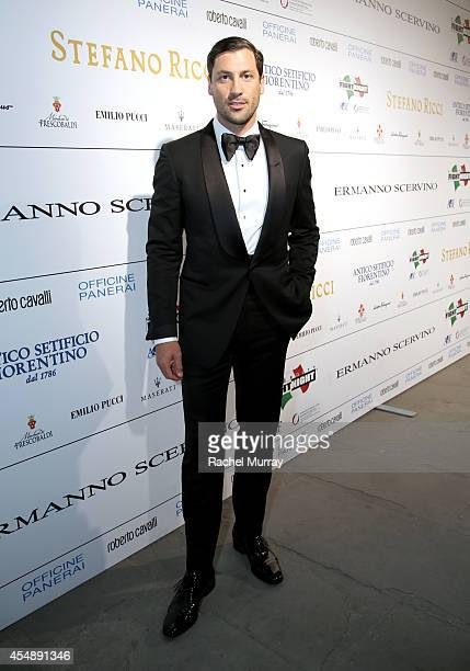 Maksim Chmerkovskiy attends the Celebrity Fight Night gala celebrating Celebrity Fight Night In Italy benefitting The Andrea Bocelli Foundation and...