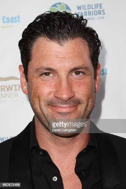 Maksim Chmerkovskiy attends the Steve Irwin Gala Dinner at the SLS Hotel at Beverly Hills on May 13 2017 in Los Angeles California
