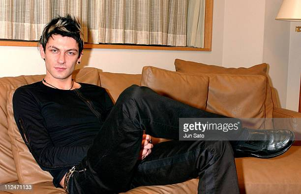 Maksim Mrvica during Maksim Mrvica Photo Call Backstage and Rehearsal at Tokyo Opera City Concert Hall in Tokyo Japan