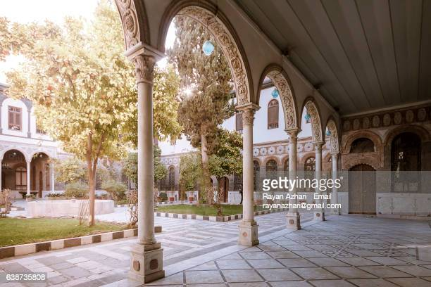 maktab anbar damascus syria - syrian culture stock photos and pictures