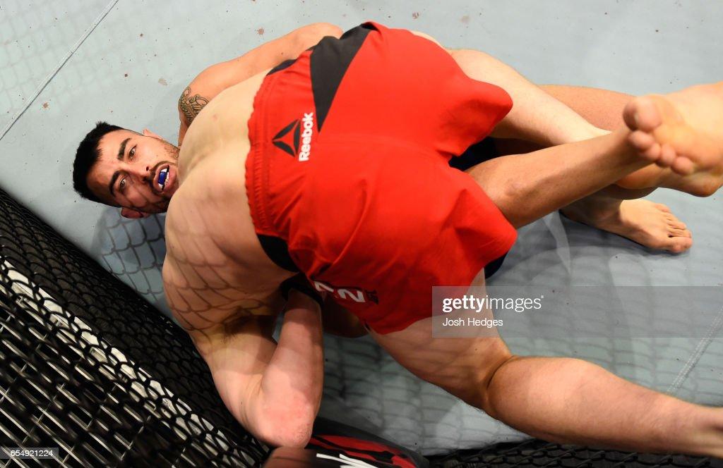 UFC Fight Night: Allen v Amirkhani : News Photo