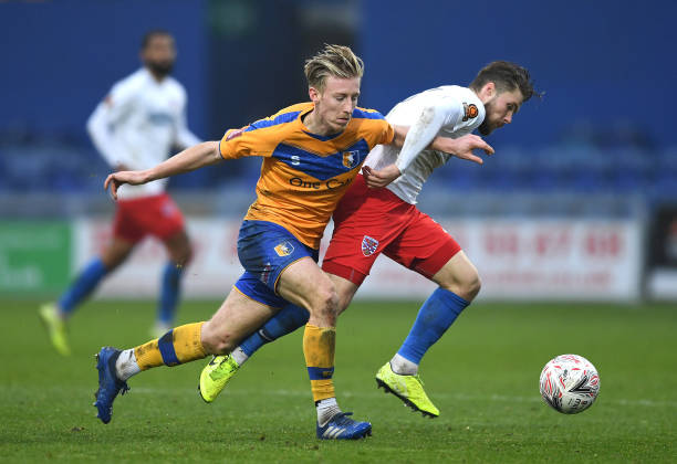 GBR: Mansfield Town v Dagenham And Redbridge - FA Cup Second Round